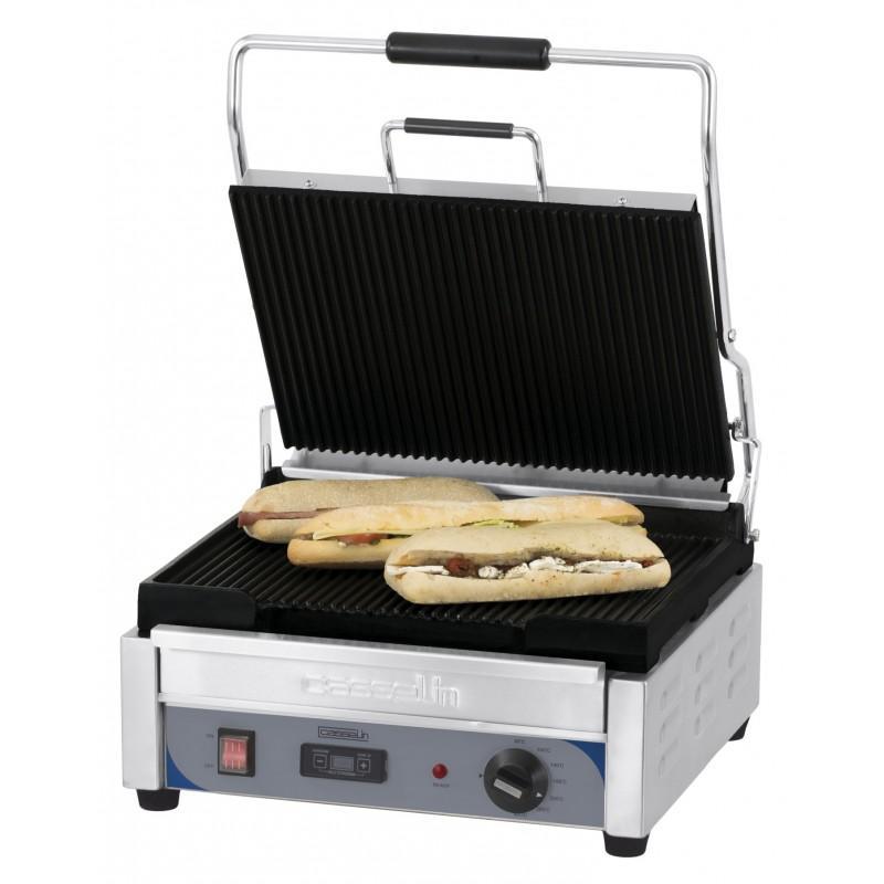 grill panini grand premium rainuree rainuree avec minuteur professionnel. Black Bedroom Furniture Sets. Home Design Ideas