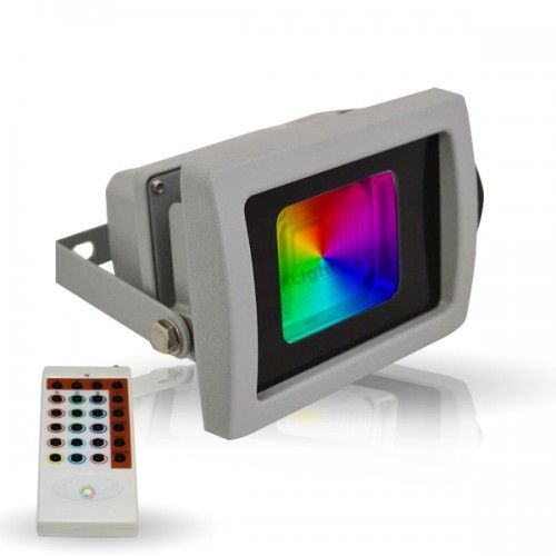 Projecteur exterieur led rgb 10w ena5370 for Projecteur led rgb exterieur