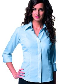 CHEMISE MANCHES 3/4 TENCEL FEMME RUSSELL RÉF. JZ953F