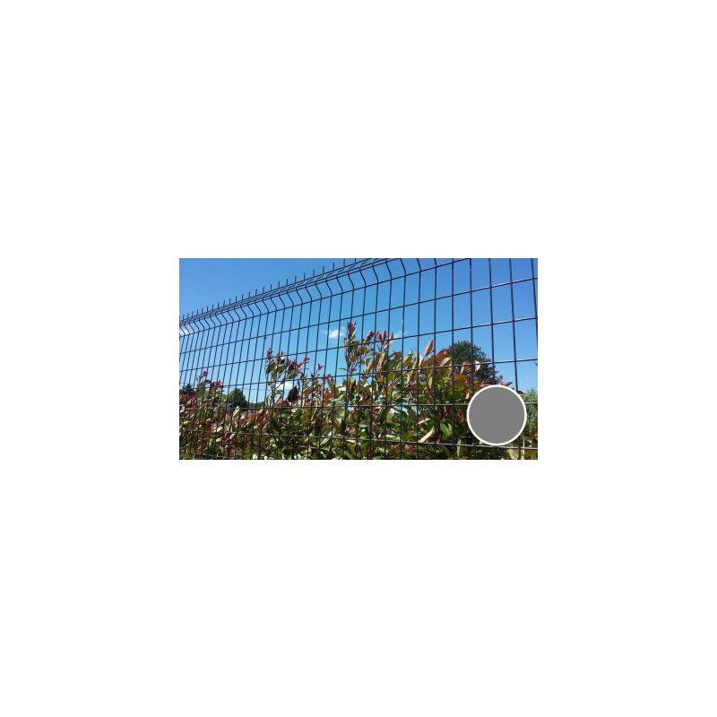GRILLAGE RIGIDE GRIS - JARDIMALIN - FIL 4MM - 1,53 MÈTRE - CLOTURE & JARDIN