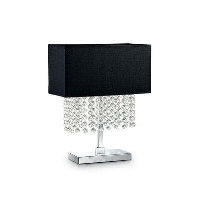Lampe A Poser Phoenix Noir 1x40w Ideal Lux 113708
