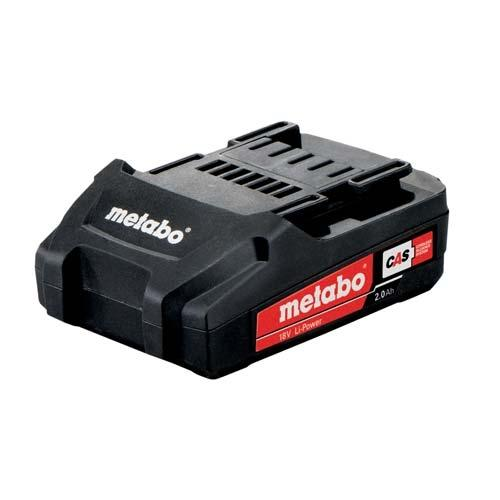 Metabo Batterie d'origine Pack LiHD Batteries, chargeurs Bricolage 18 Volts/8,0 Ah