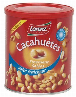 BOÎTE DE CACAHUÈTES FINEMENT SALÉES 500G