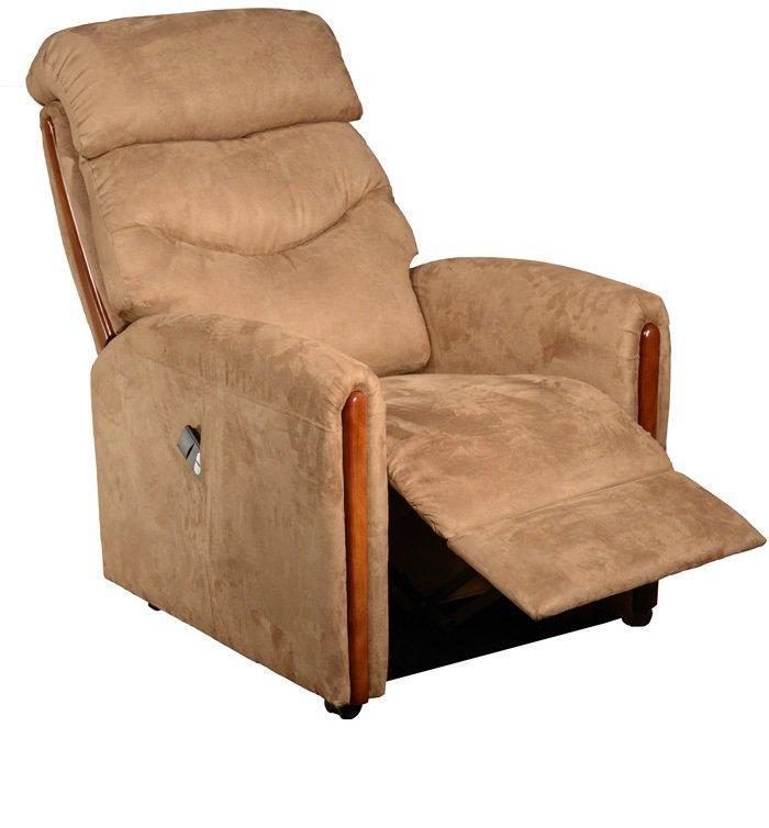 origin fauteuil relax et releveur lectrique bi moteur microfibre marron glac comparer les. Black Bedroom Furniture Sets. Home Design Ideas