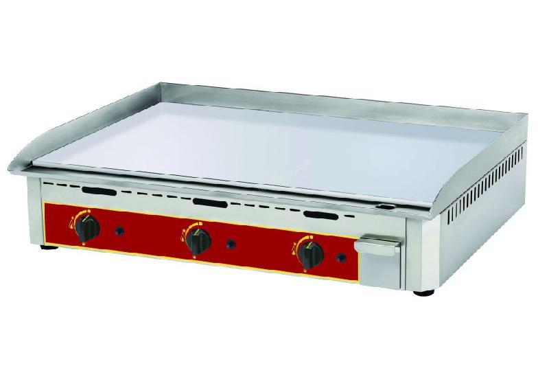 Plancha professionnelle gaz en chrome dur roller grill 920 mm comparer les prix de plancha - Plancha professionnelle gaz ...