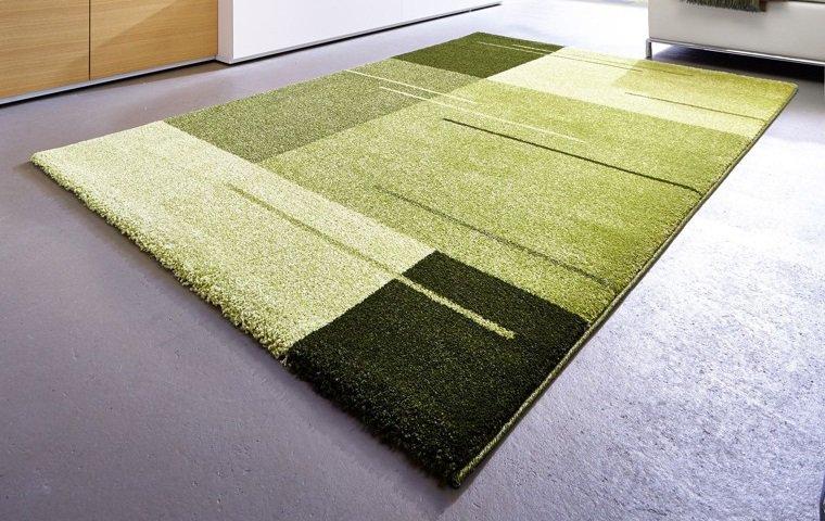 samoa design tapis patchwork vert 200x290 cm un tapis épais haut de ...