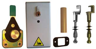 Serrure a cle pour porte isotherme de chambre froide n 57 - Porte isotherme chambre froide ...