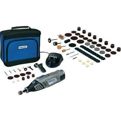 Outil multifonction sans fil dremel 8100 1 15 batterie li ion 7 2 v acces - Outil multifonction sans fil ...