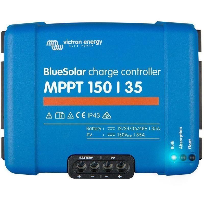 RÉGULATEUR SOLAIRE MPPT 150/35 - 12/24/36/48V VICTRON ENERGY