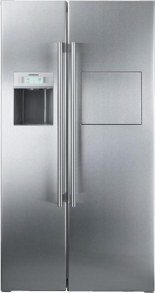 siemens refrigerateur americain premium ka63da71 ka 63 da 71 inox easyclean. Black Bedroom Furniture Sets. Home Design Ideas