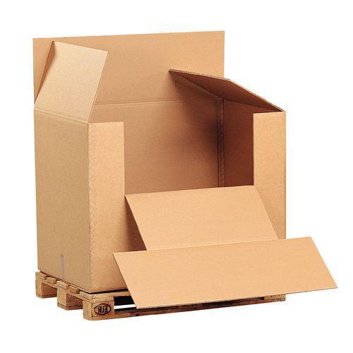 caisses palettes en carton comparez les prix pour professionnels sur page 1. Black Bedroom Furniture Sets. Home Design Ideas