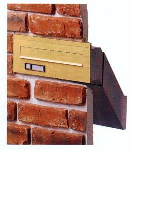 Boites aux lettres multiples tous les fournisseurs boite lettre collectiv - Fixation boite aux lettres mur ...