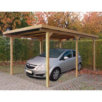 carport en bois pologne. Black Bedroom Furniture Sets. Home Design Ideas