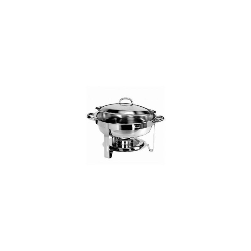 CHAFING DISH ELECTRIQUE AVEC BAC RONDE