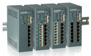Jumboswitch - switch ethernet rail din