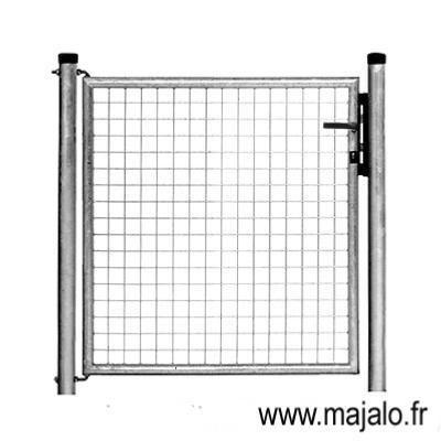 Portillon standard galvanise l1m00xh1m00 for Portillon standard