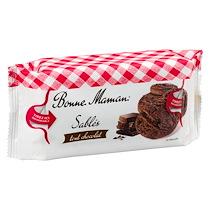 GÂTEAUX SABLÉS TOUT CHOCOLAT BONNE MAMAN - SACHET DE 150 G