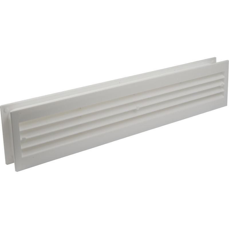 grille salle de bains blanche 45 5x9cm comparer les prix de grille salle de bains blanche 45. Black Bedroom Furniture Sets. Home Design Ideas