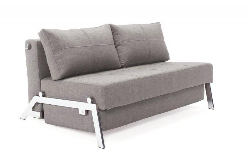 Canape lit design sofabed cubed gris fonce innovation for Canapes lits