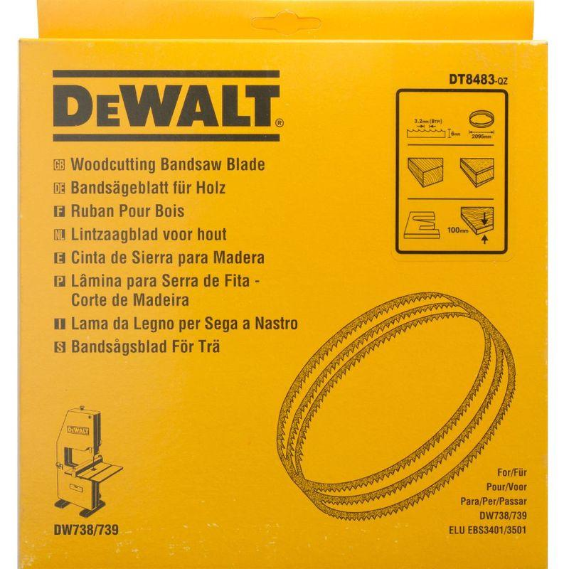 DEWALT A UTILISER AVEC DW738/ DW739 DT8483