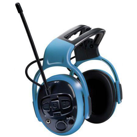CASQUE ANTI-BRUIT ACTIF RADIO MP3 DUAL PRO MSA GALLET