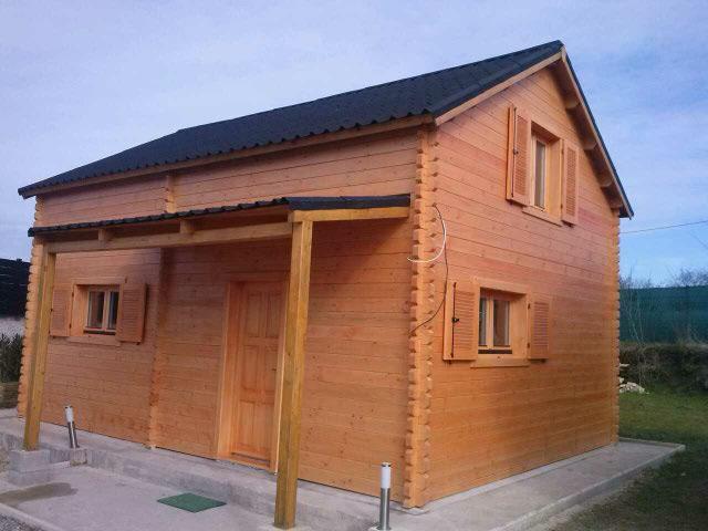 chalets en bois tous les fournisseurs bungalow bois. Black Bedroom Furniture Sets. Home Design Ideas