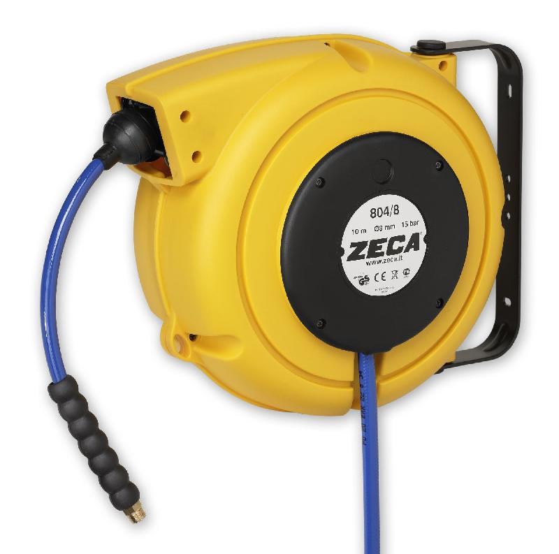 Enrouleur tuyau d air comprime avec tuyau kpu zeca am86 10 - Enrouleur tuyau air comprime ...