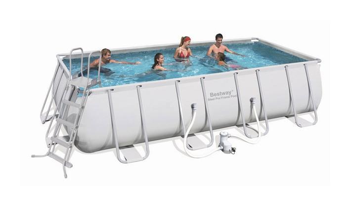 Piscines bestway achat vente de piscines bestway for Piscine tubulaire rectangulaire 549 x 274 x 122 cm