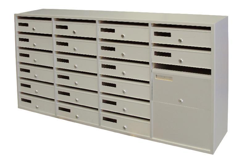 boites aux lettres multiples modele 3260 50. Black Bedroom Furniture Sets. Home Design Ideas
