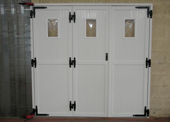 Portes de garage battantes tous les fournisseurs porte for Porte de garage b plast