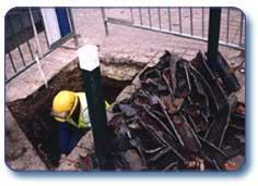 Services de construction en assainissement