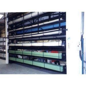 Stockage vertical rotatif