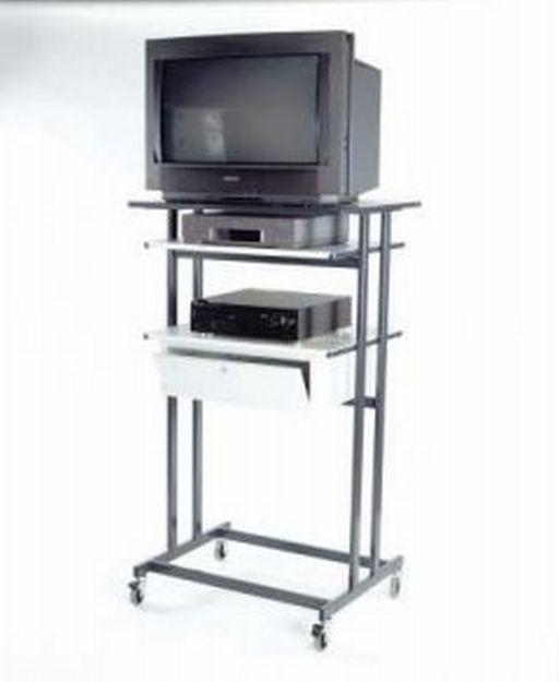 Table a 3 plateaux pour televiseurs p2200 for Table televiseur