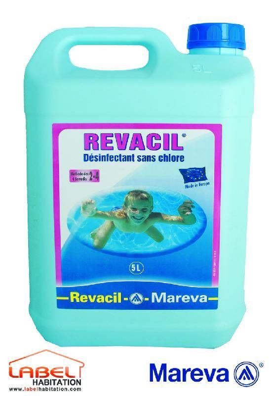 TRAITEMENT  REVACIL 5 L POUR PISCINE ENFANT - MAREVA  000011