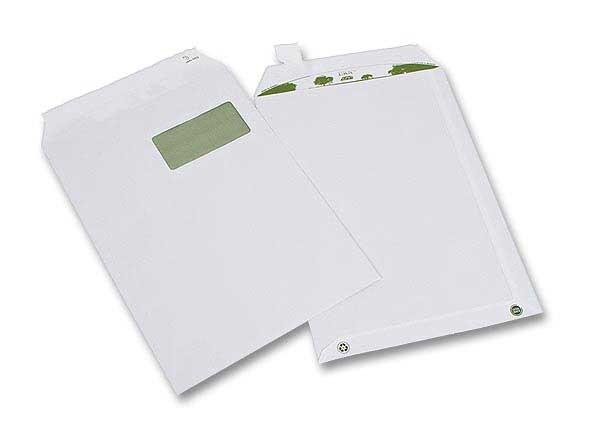 Pochettes recycl es bande silicon e 229x324 mm fen tre for Fenetre 50x100
