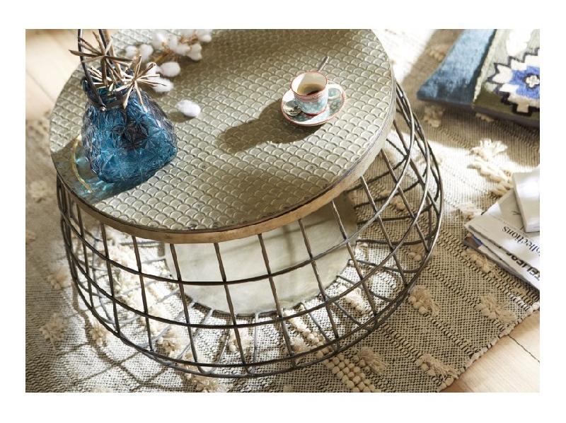 Tables basses amadeus achat vente de tables basses for Table basse ronde bois et metal