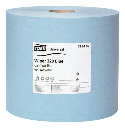 bobine essuyage industriel tork universal 350 m bleue tork comparer les prix de bobine. Black Bedroom Furniture Sets. Home Design Ideas