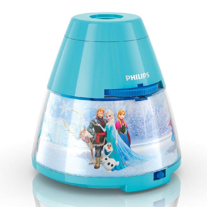 Disney veilleuse pile projecteur led bleu reine des - Veilleuse a pile ...
