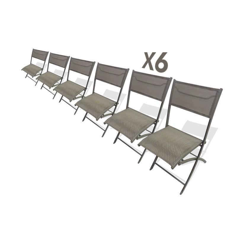 Chaise pliante acier lyon 37 for Chaise de bureau pliante