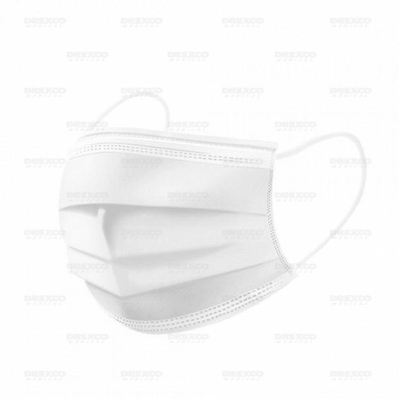 Masques chirurgicaux type ii r blanc - boite de 50 - lot de 20 -