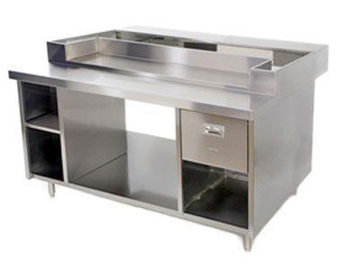 Table inox cuisine meuble bar cuisine beau table inox - Ikea table inox ...