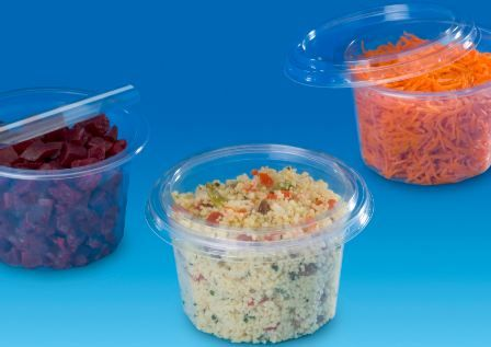 BOÎTES ALIMENTAIRES POUR SALADE TUSIPACK