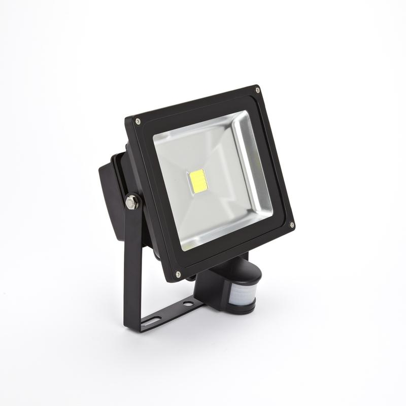 Biard projecteur led ext rieur jardin blanc chaud 30w for Lampe led exterieure