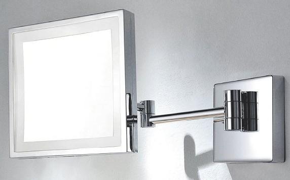 miroir de courtoise avec led. Black Bedroom Furniture Sets. Home Design Ideas