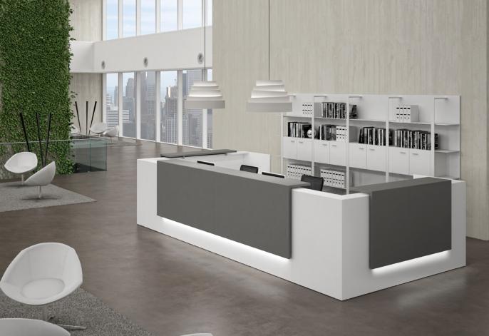 Banques d 39 accueil tous les fournisseurs comptoir d 39 accueil modu - Comptoir de reception hotel ...