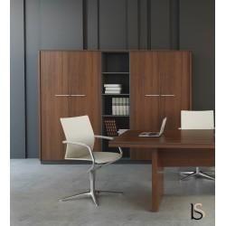grande armoire de rangement status mdd. Black Bedroom Furniture Sets. Home Design Ideas