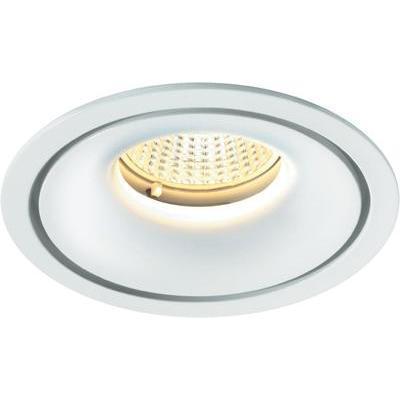 SPOT LED ENCASTRABLE LED INTÉGRÉE SYGONIX ENNA 12593Y BLANC CHAUD 10 W BLANC