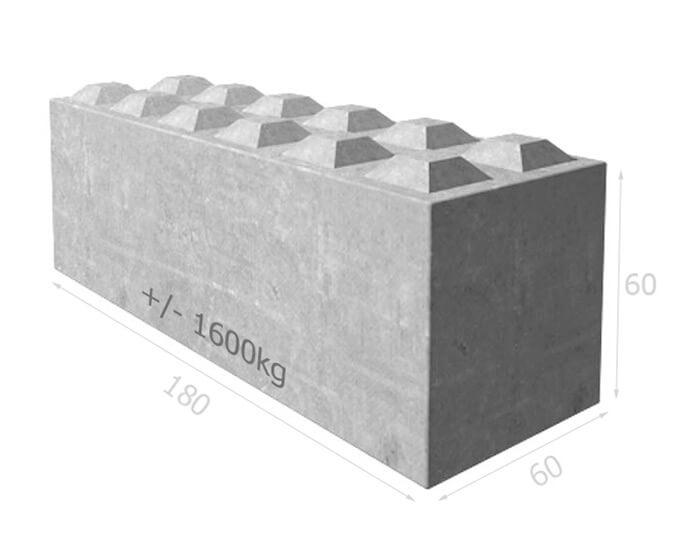 murs de soutenement bloc beton bt60 180. Black Bedroom Furniture Sets. Home Design Ideas