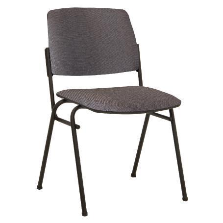 Siège visiteur, chaise de conférence isit black noire
