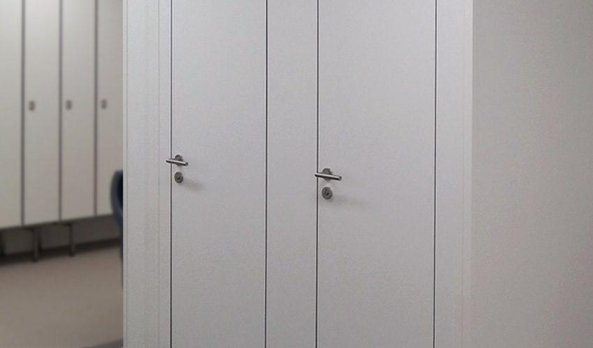 Cabine de vestiaire borea composite de 35mm
